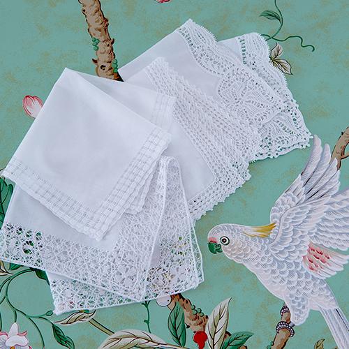 Cologne & Cotton Handkerchiefs