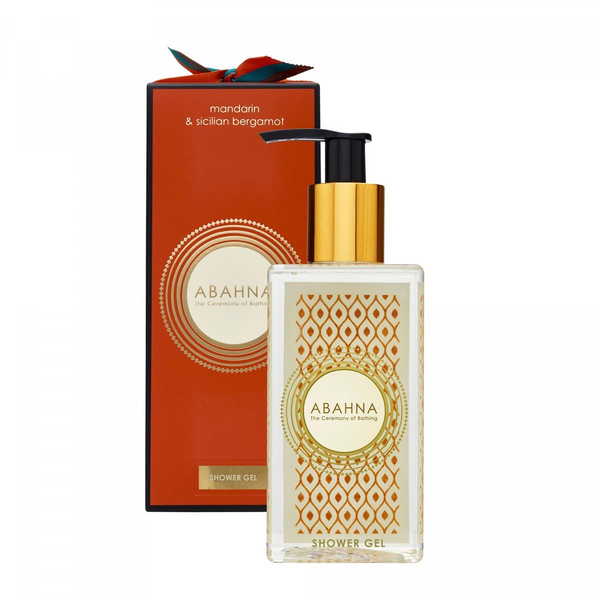 Abahna mandarin & sicilian bergamot shower gel 250ml