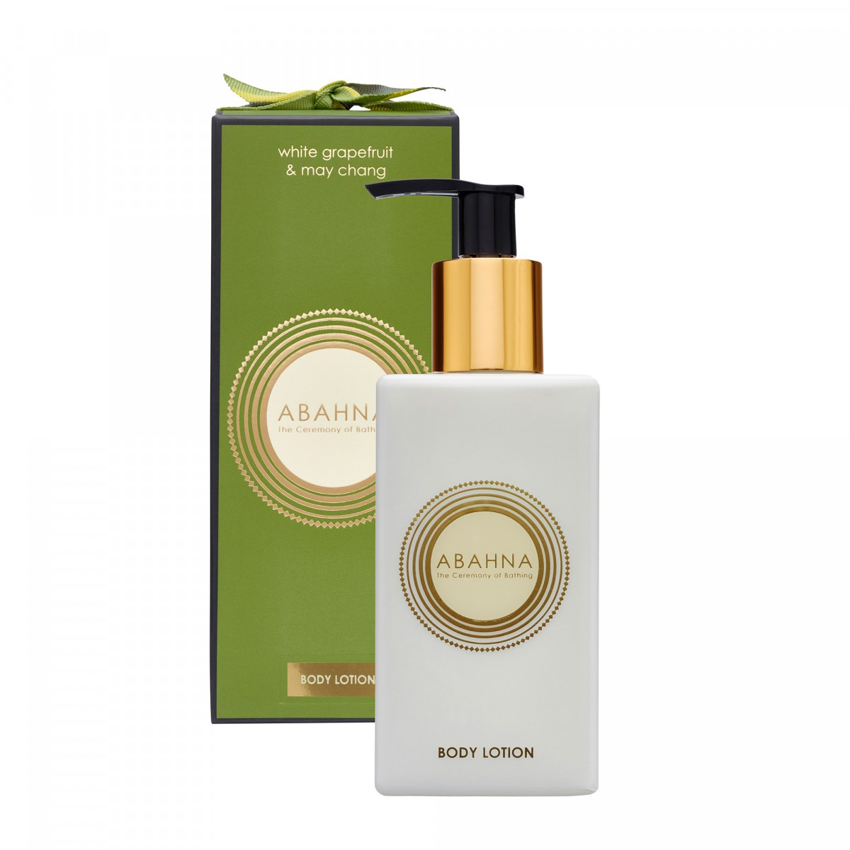 Abahna white grapefruit & may chang body lotion 250ml