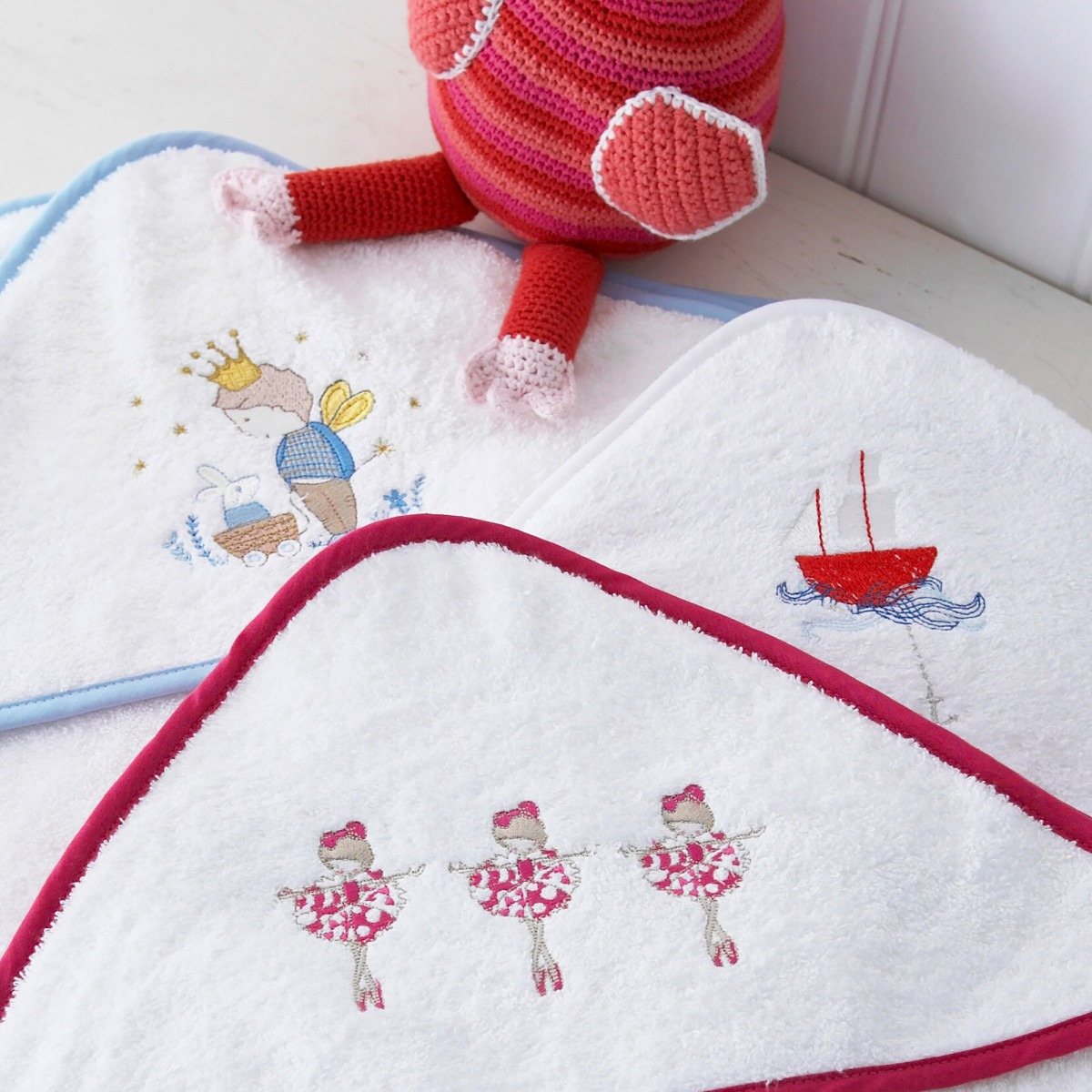 Embroidered Hooded Towels