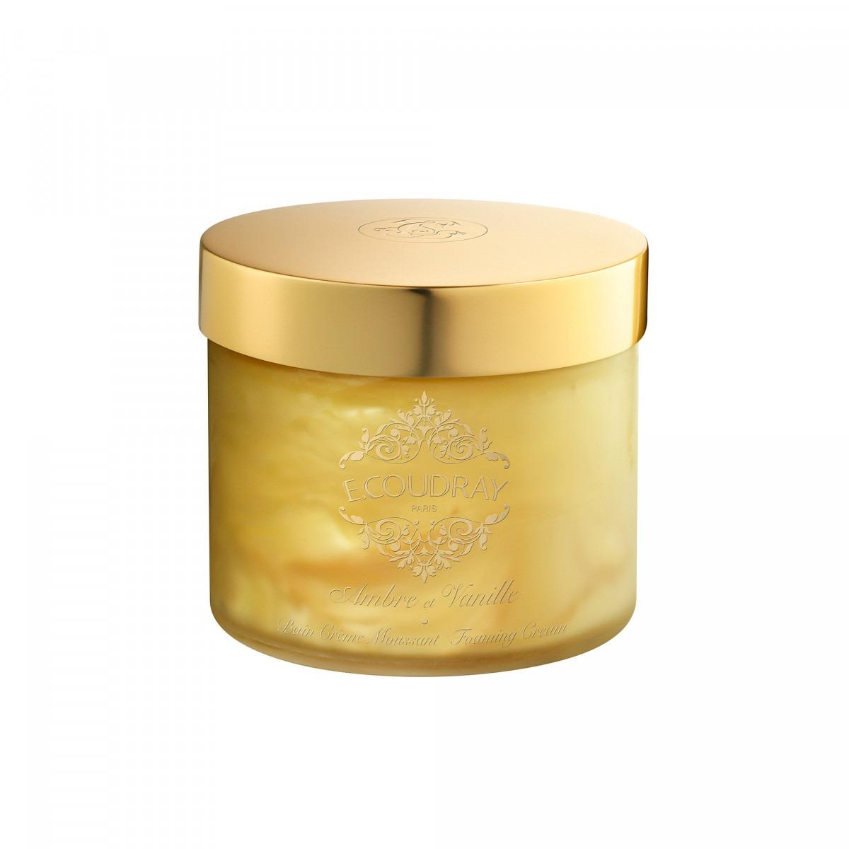 E. Coudray bath mousse glass jar ambre de vanille 250ml