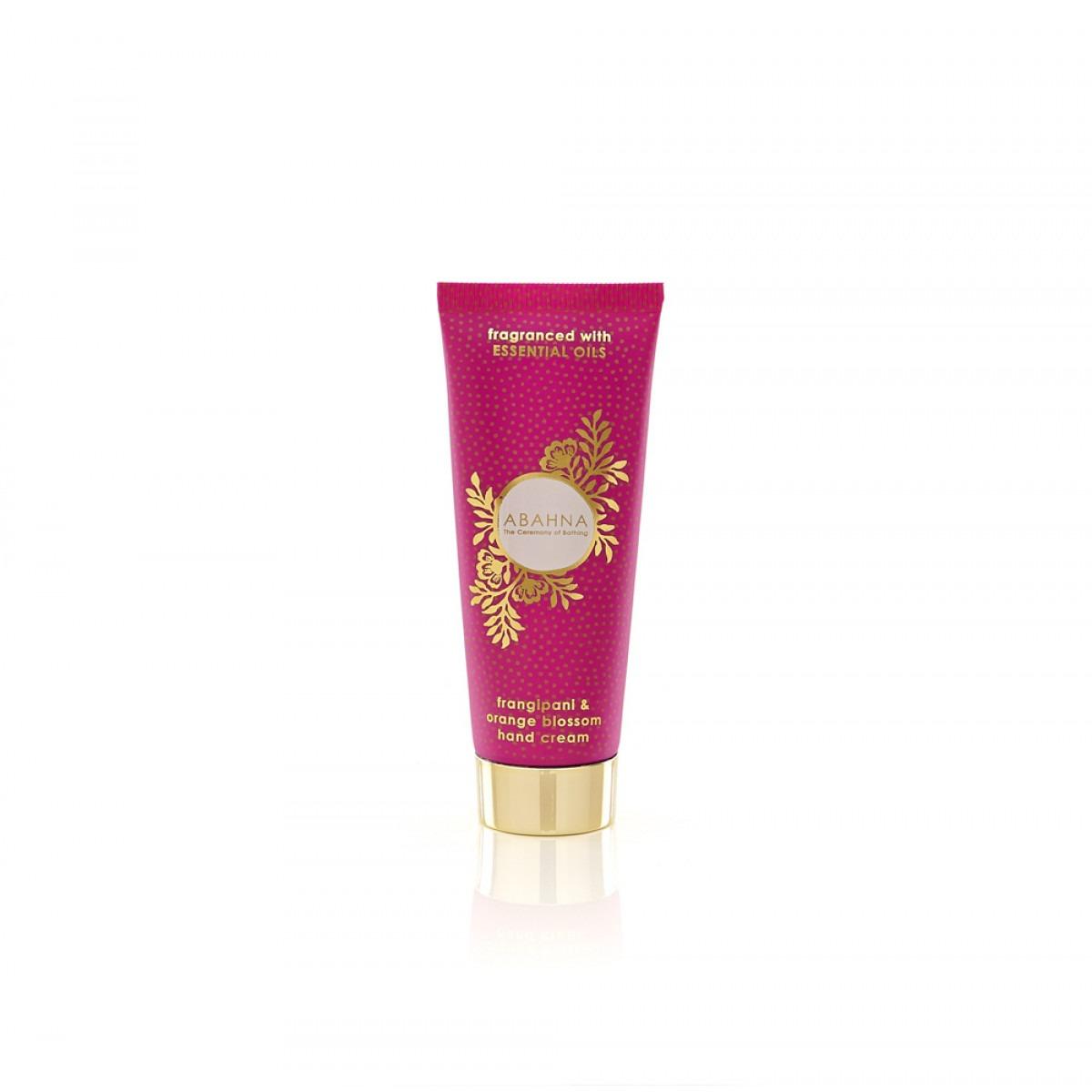 Abahna Frangipani & Orange Blossom Hand Cream 50ml