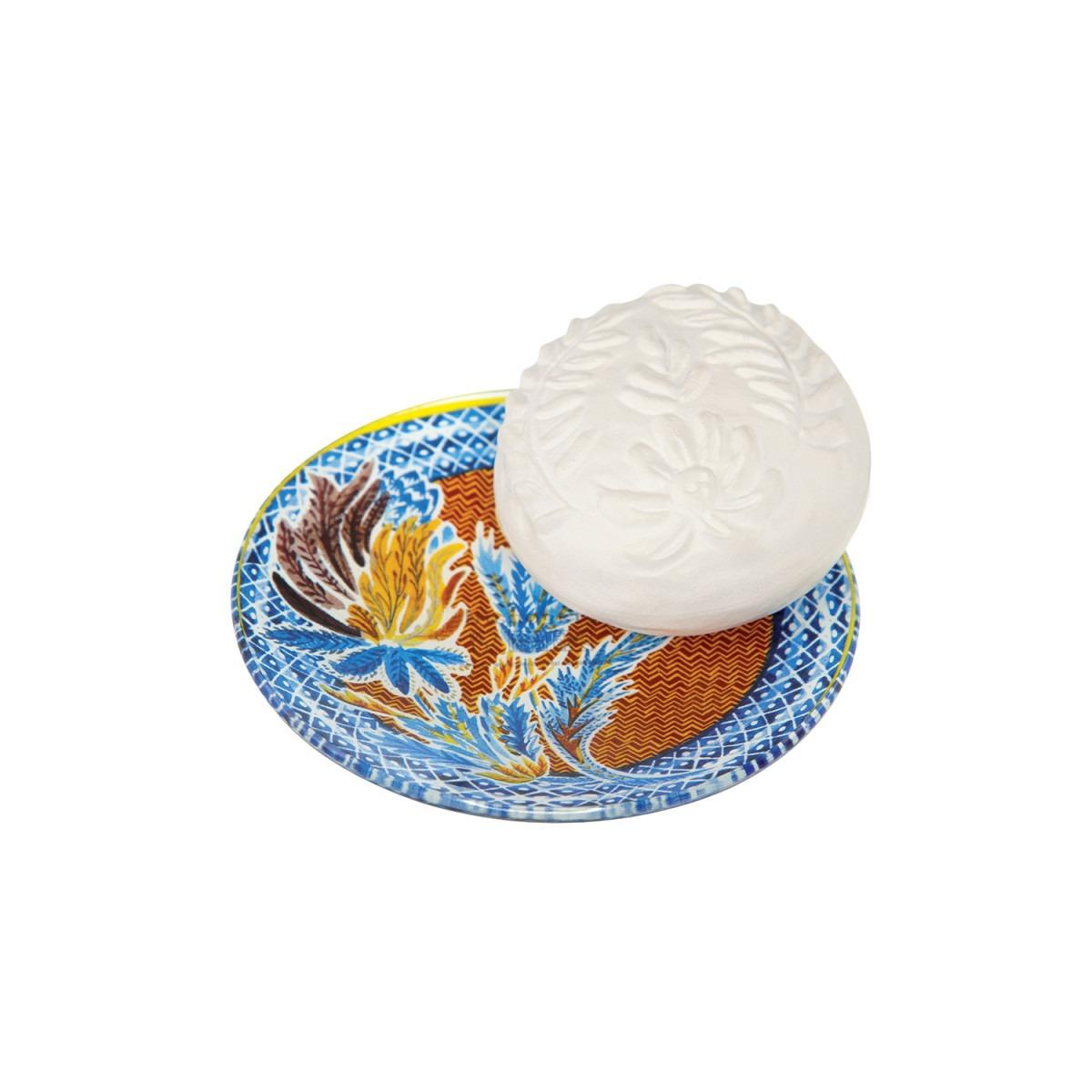 Fragonard Rose Lavande Soap & Soap Dish