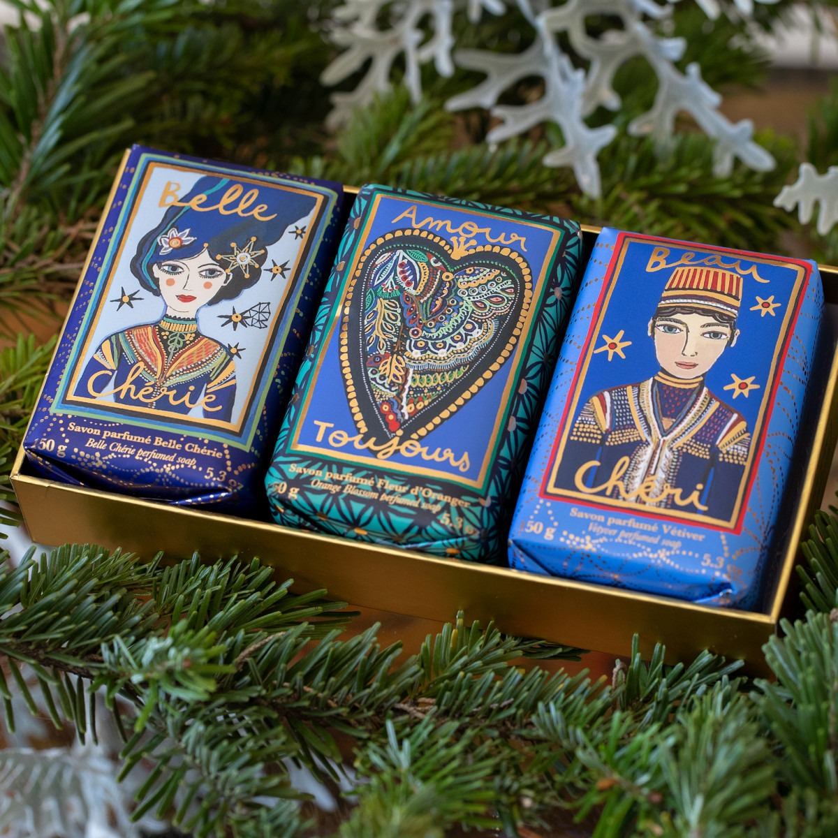 Fragonard Perfumed Soaps Box of 3