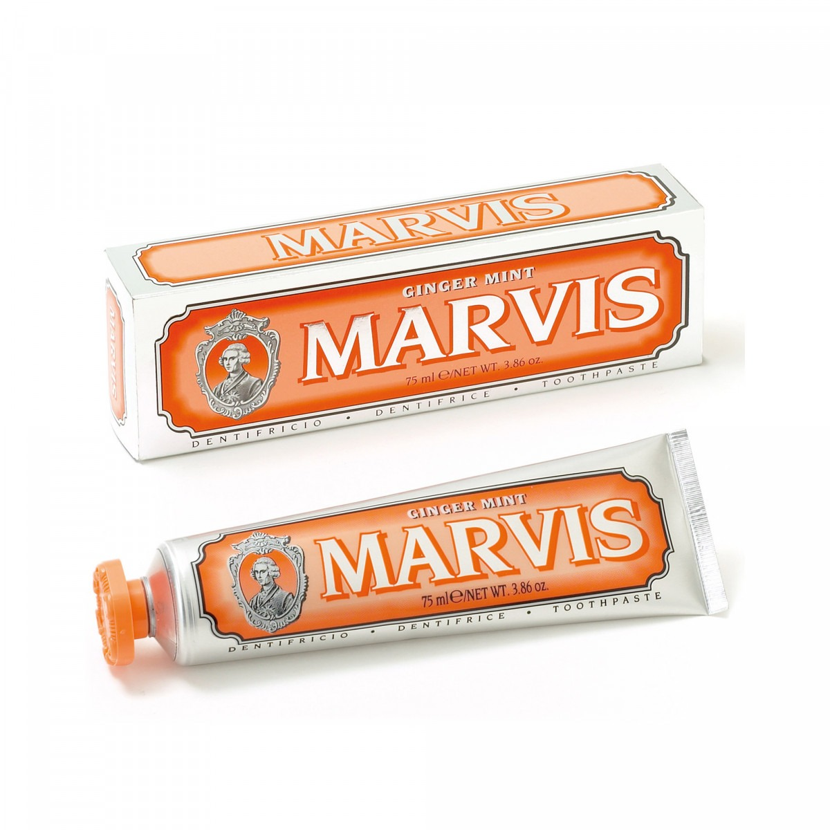 Marvis toothpaste ginger mint 75 ml