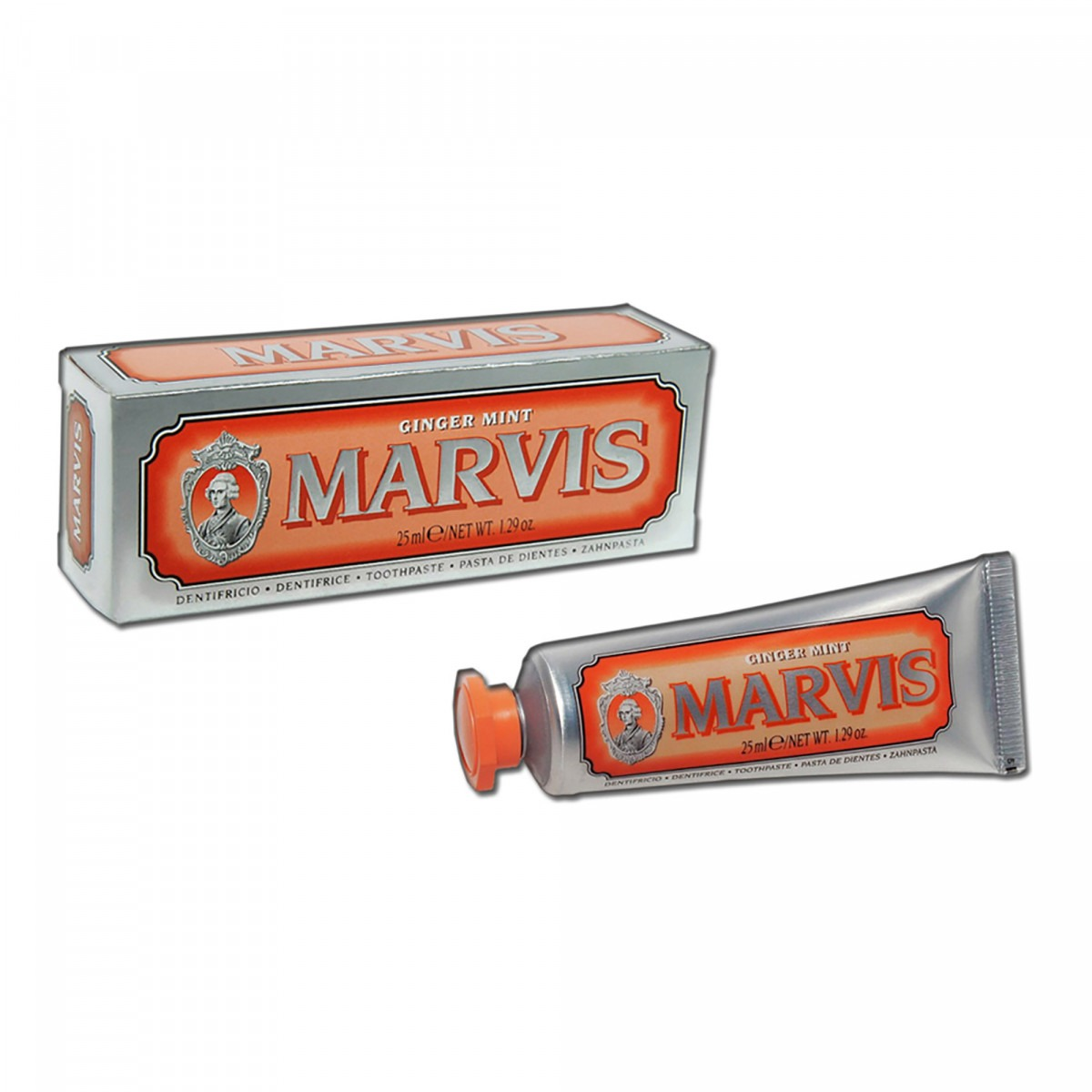 Marvis toothpaste ginger mint 25 ml