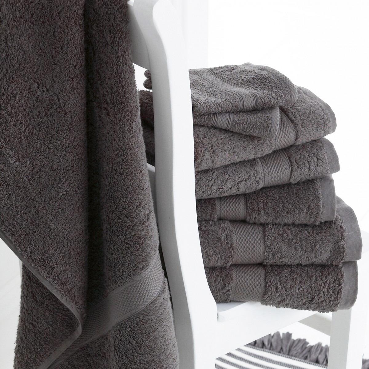 Luxury Grey Towels