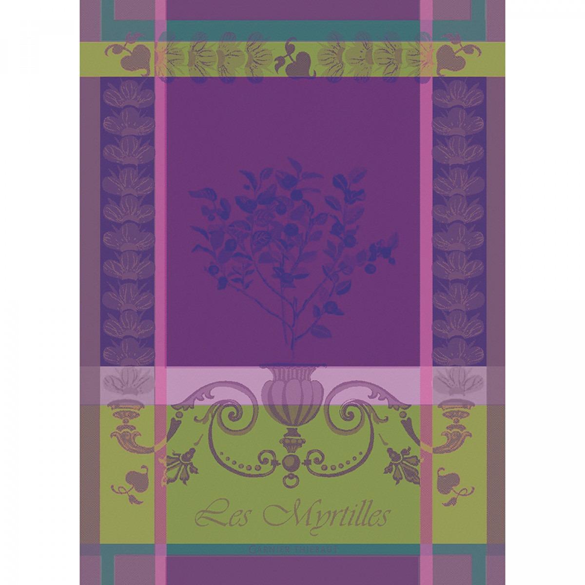 Garnier Thiebaut Blueberries Tea Towel