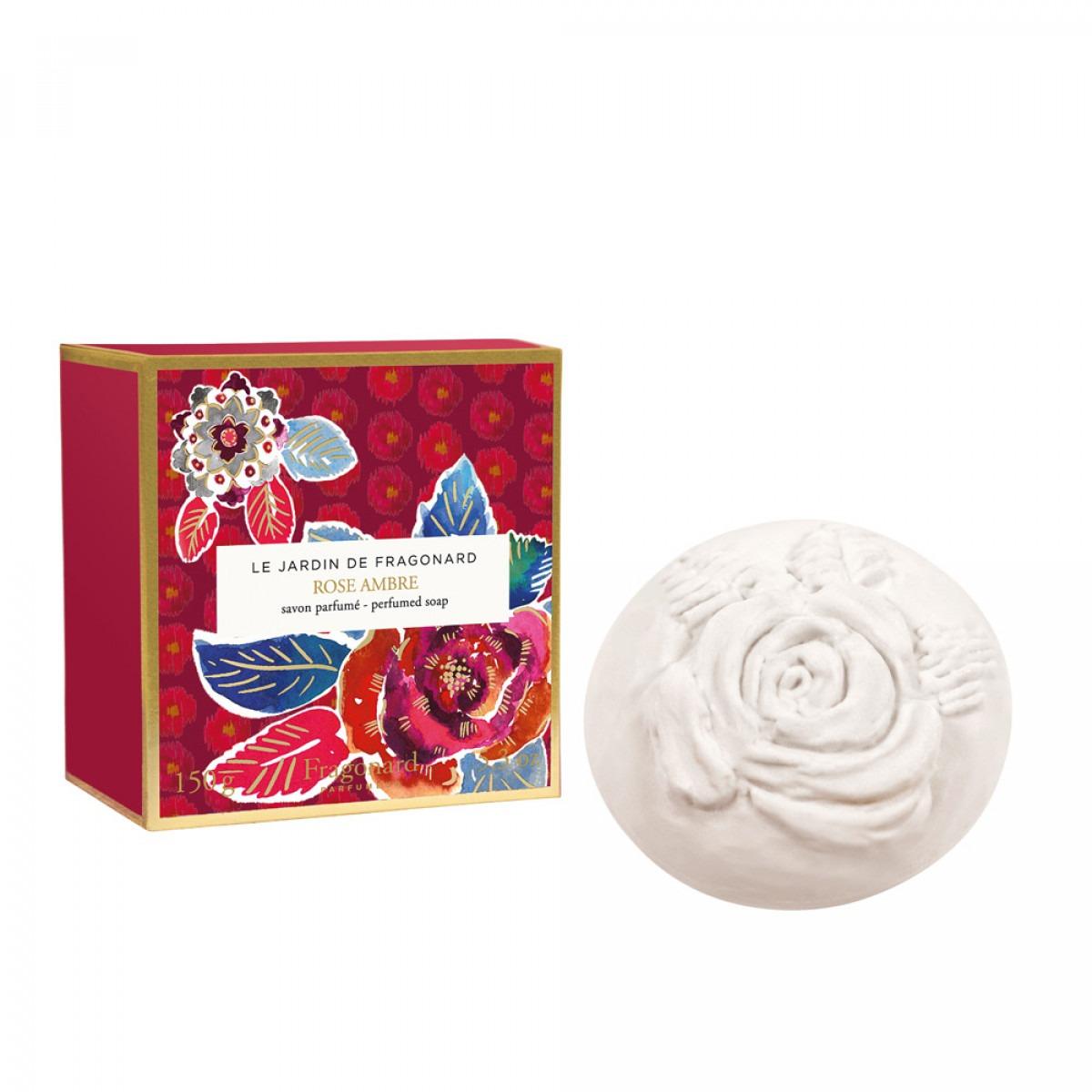 Le Jardin de Fragonard Rose Ambre - Single Soap
