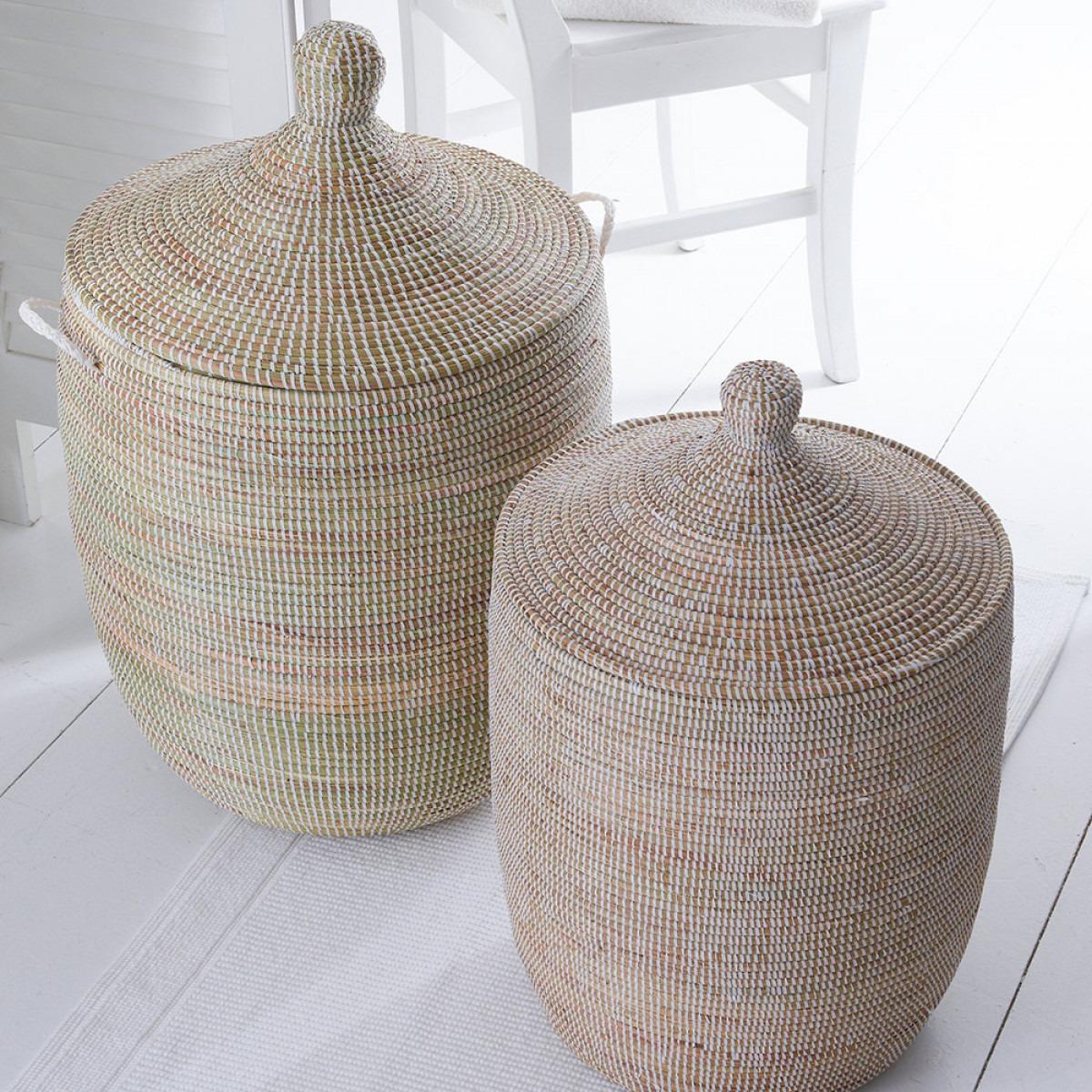 Hand Woven Ali Baba Laundry Baskets
