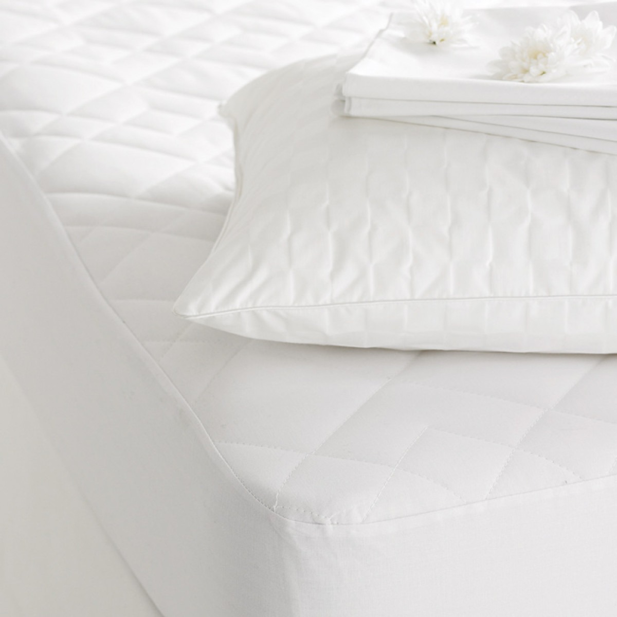 Cotton Filled Pillow Protectors
