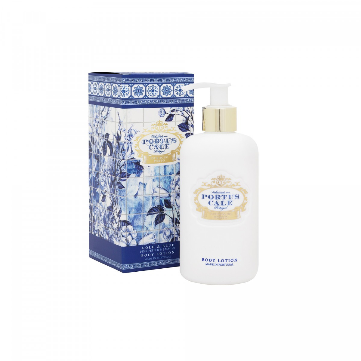 Portus Cale Blue And Gold Body Lotion 300ml