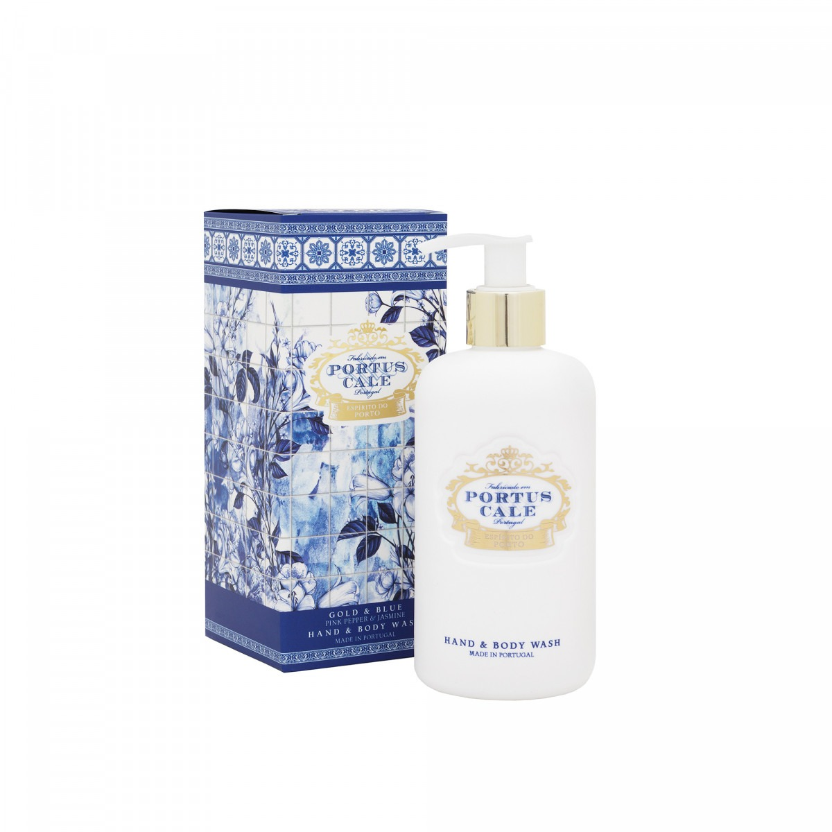 Portus Cale Blue And Gold Hand & Body Wash 300ml
