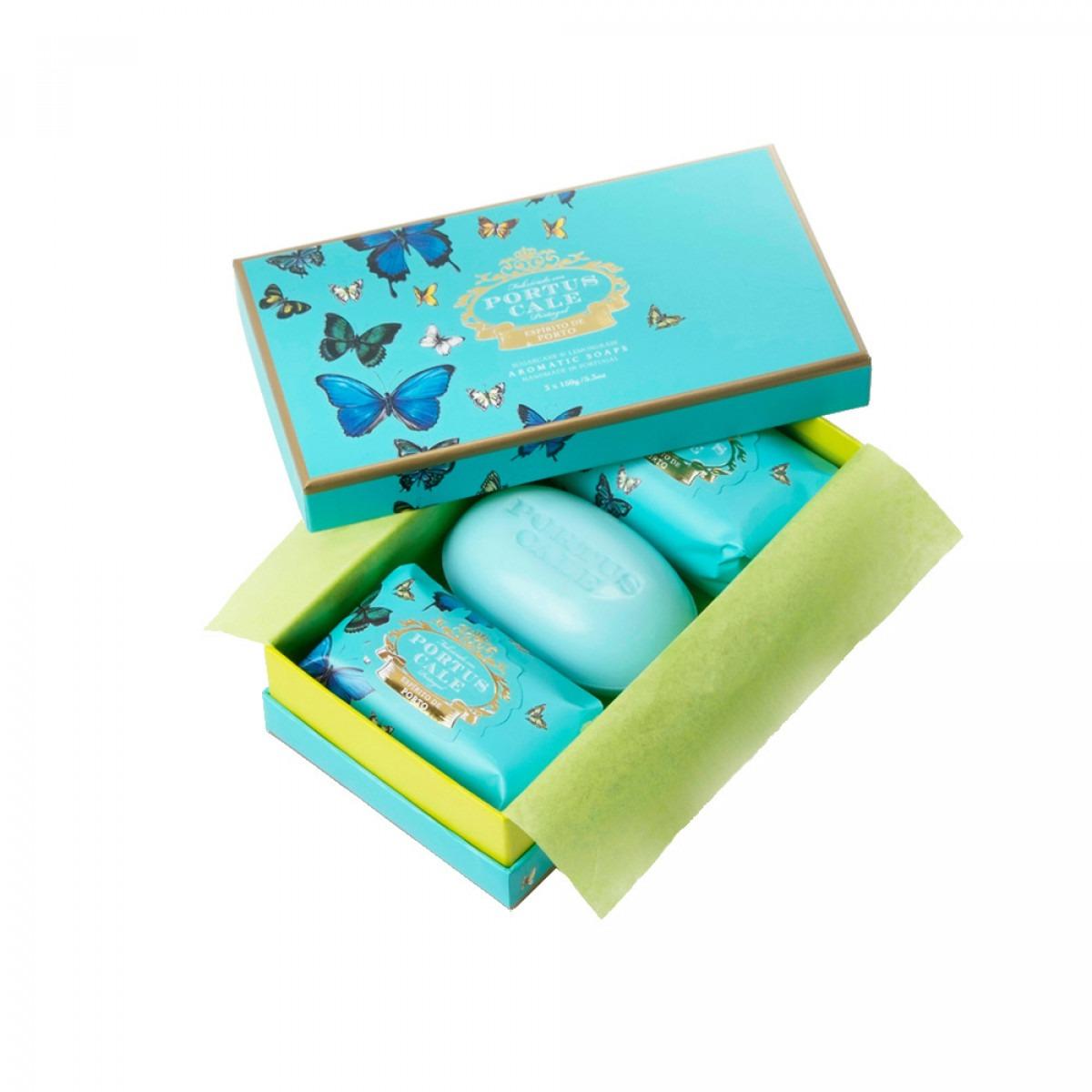 Portus Cale Box Soaps 3 x 150g