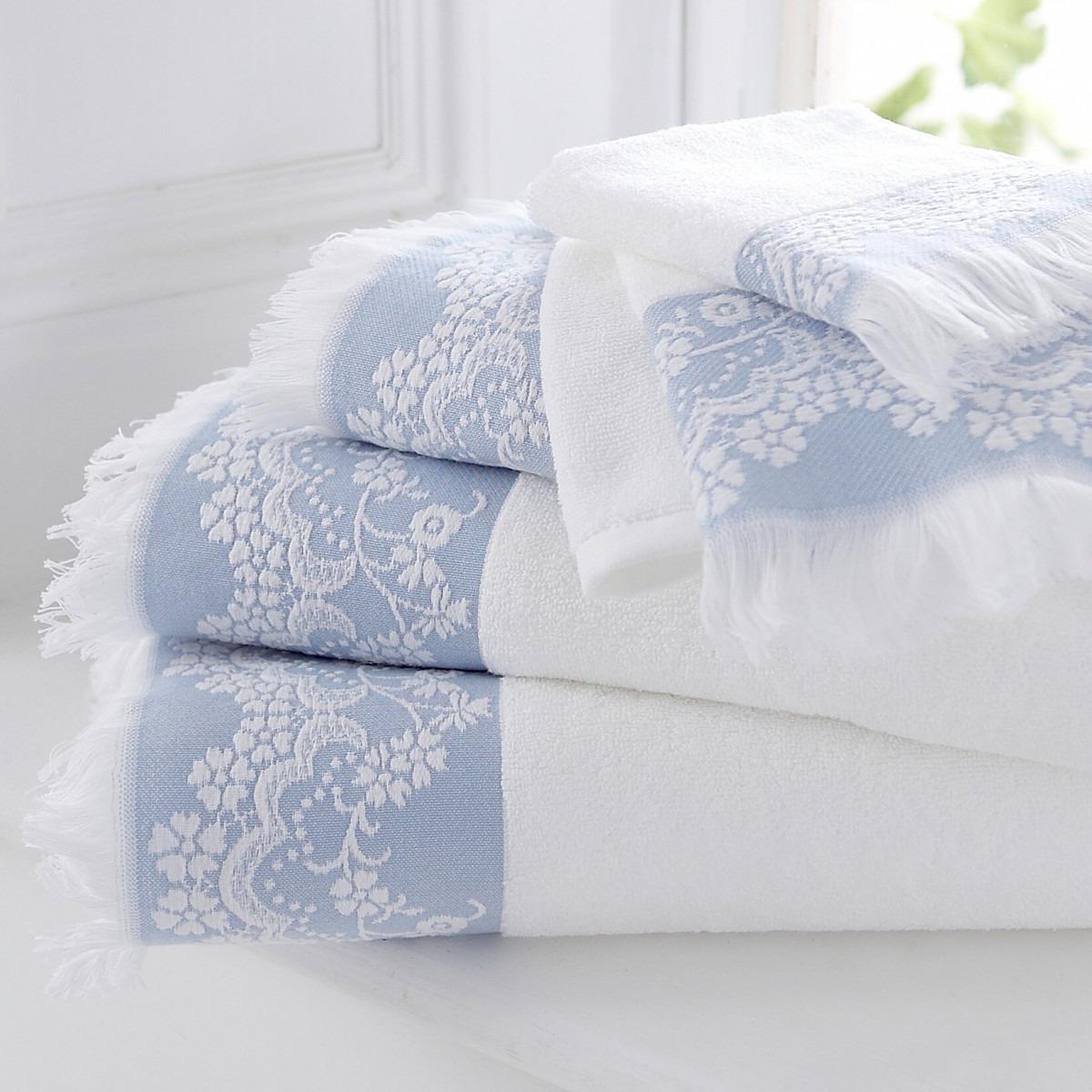 Blue Riviera Towels