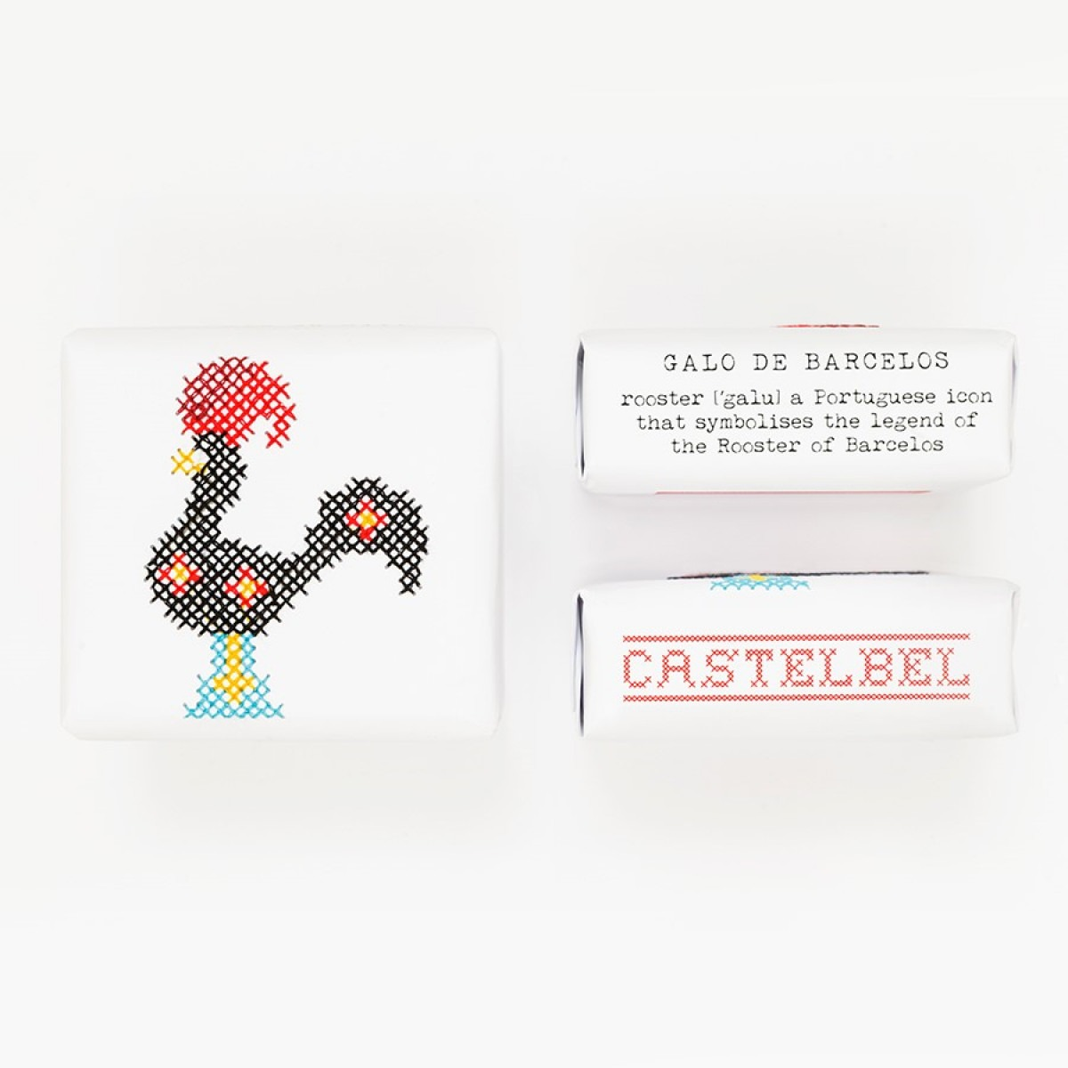 Castelbel Embroidery Soap Rooster