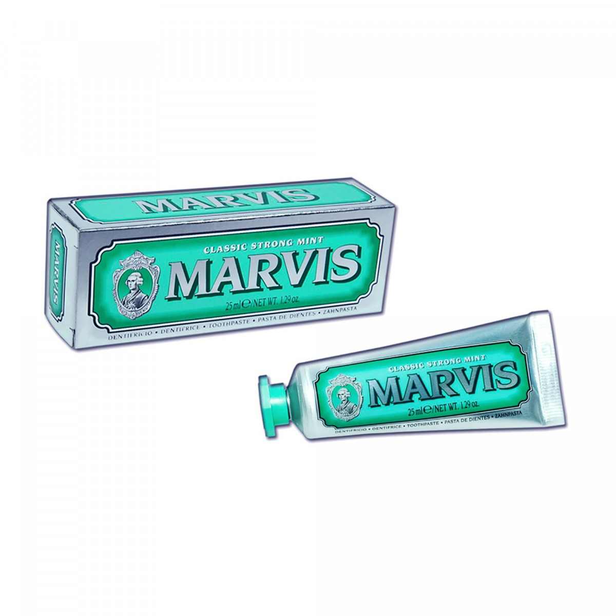 Marvis toothpaste classic strong mint 25 ml