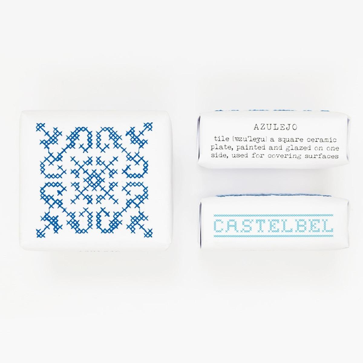 Castelbel Embroidery Soap Tile