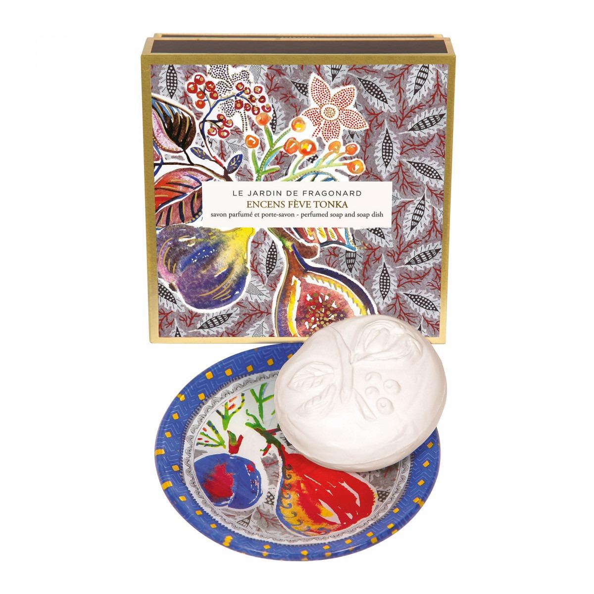 Fragonard Tonka Soap & Soap Dish