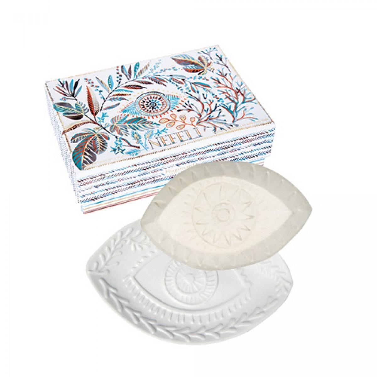 Fragonard Nefeli Soap & Soap Dish Set (Default)