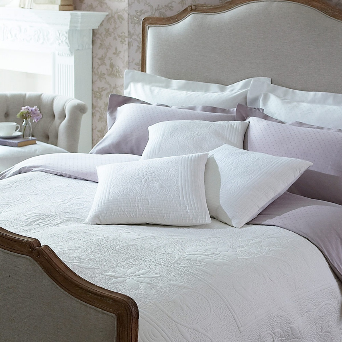 Valencia Cotton Quilts And Cushions