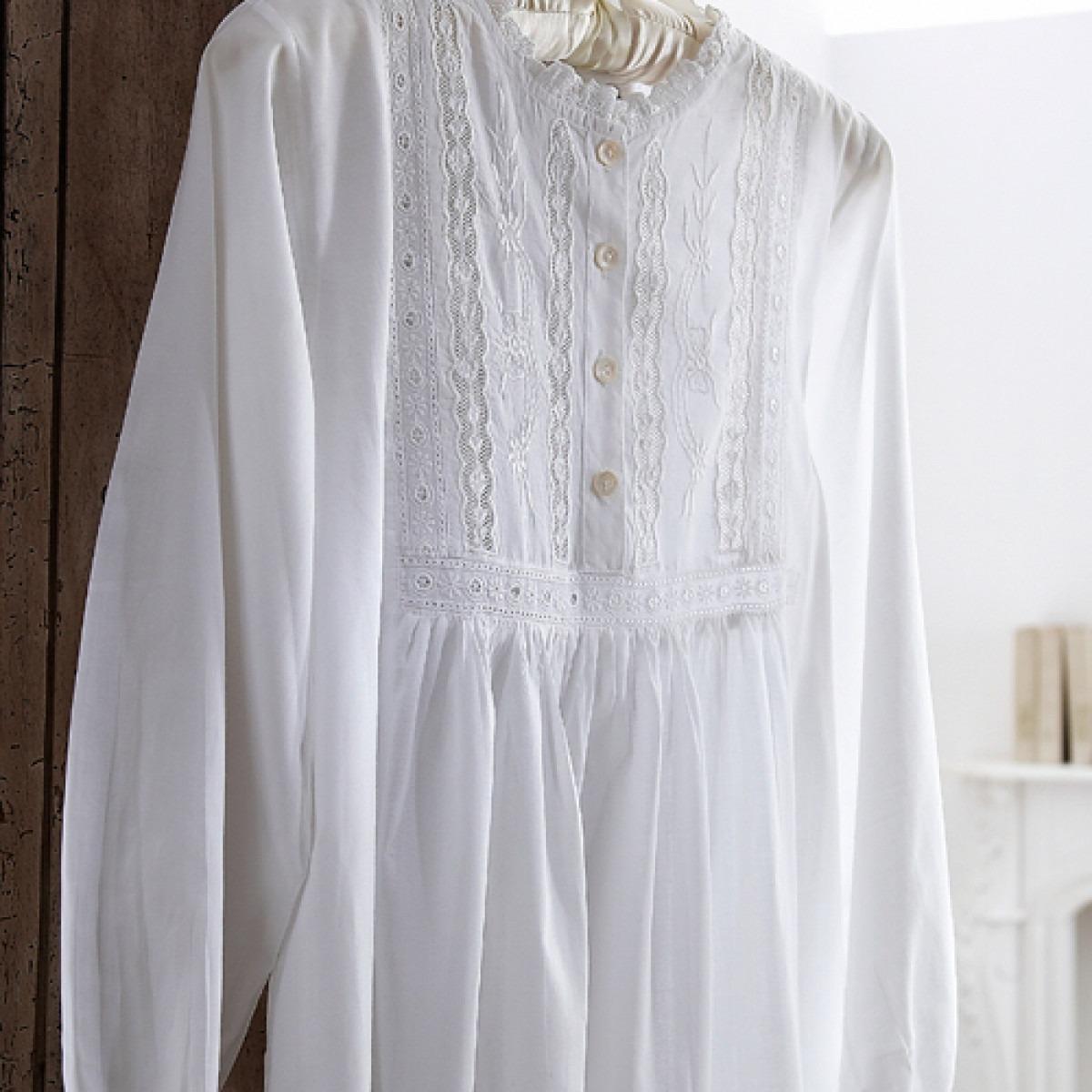 Vanessa Long Sleeve Nightgown