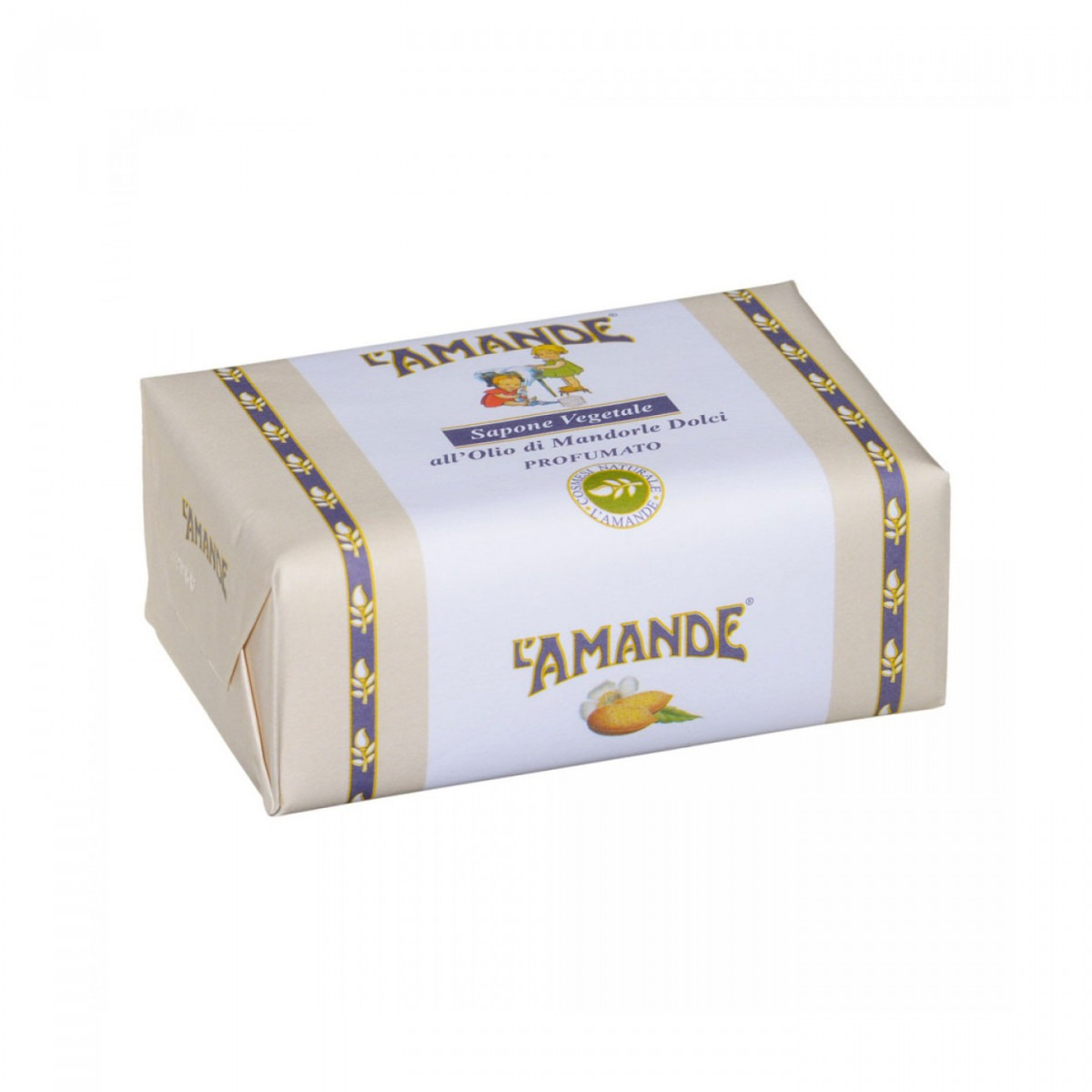 L'Amande almond soap bar 200g