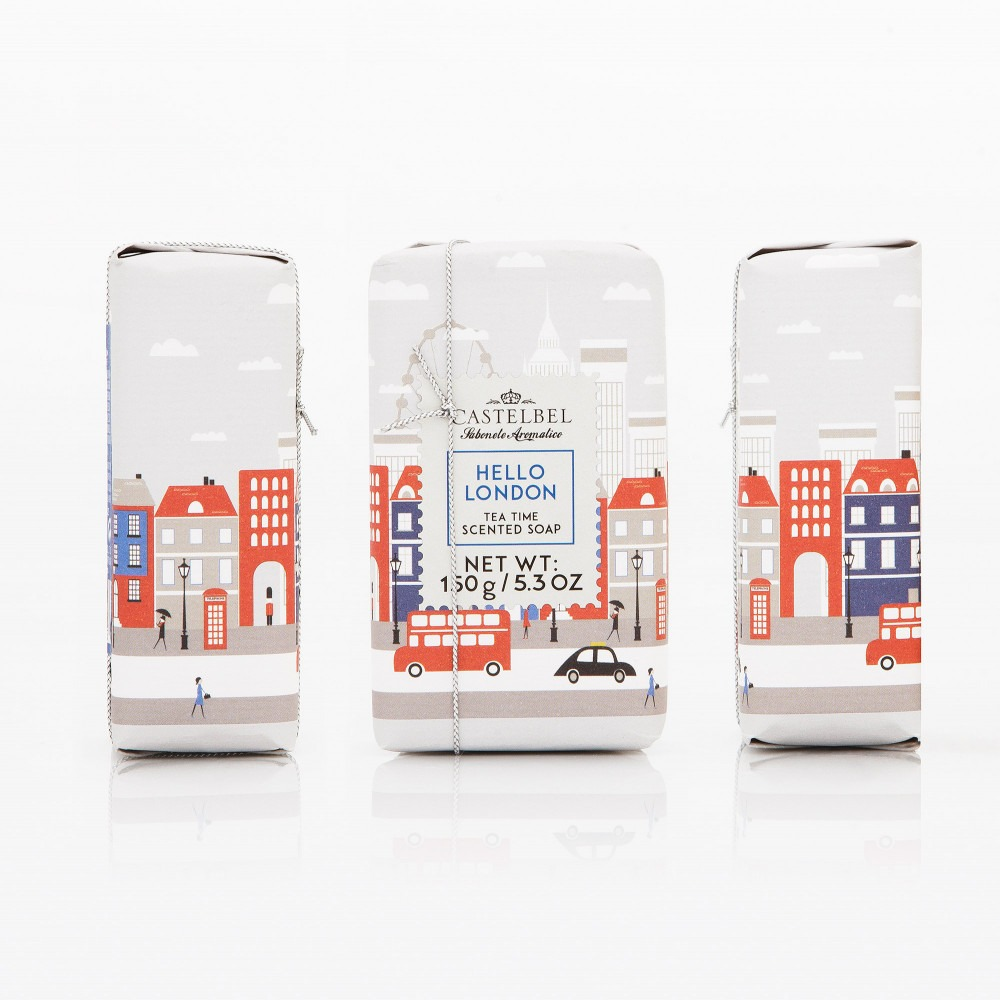 Hello London – Tea Time Scent Soap