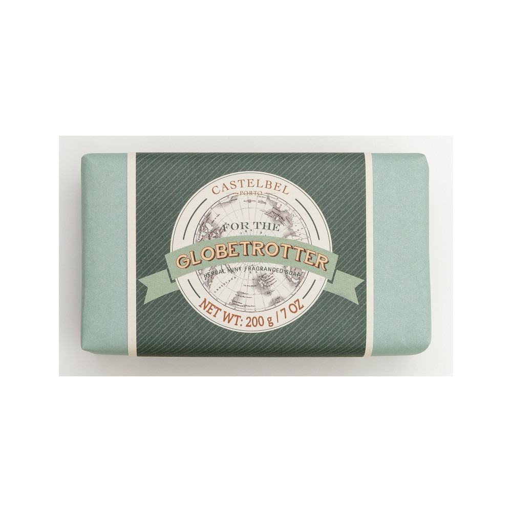 For The Globetrotter - Herbal Mint Soap