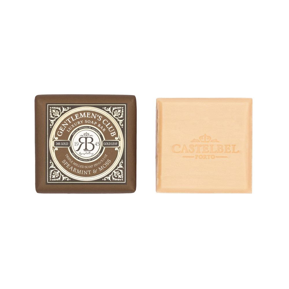 Gentlemen's Club Soap Bar - Spearmint And Moss