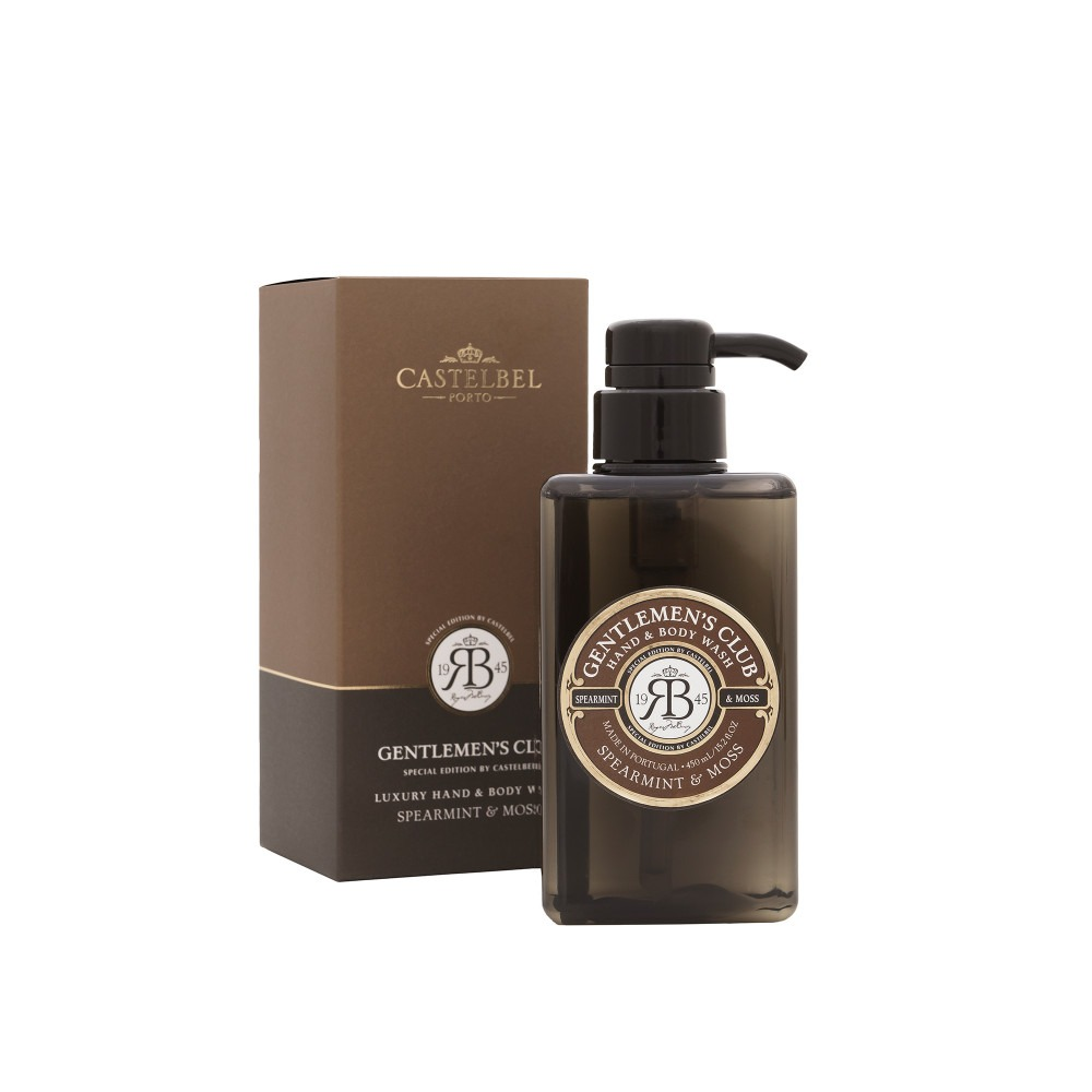 Gentlemen's Club Hand And Body Wash -  Spearmint And Moss