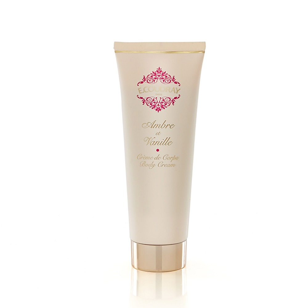 E. Coudray body cream tube ambre de vanille 125ml