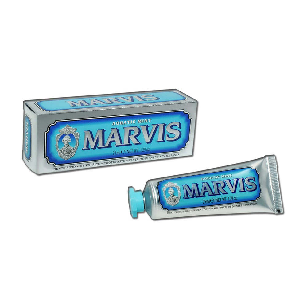 Marvis toothpaste aquatic mint 25 ml