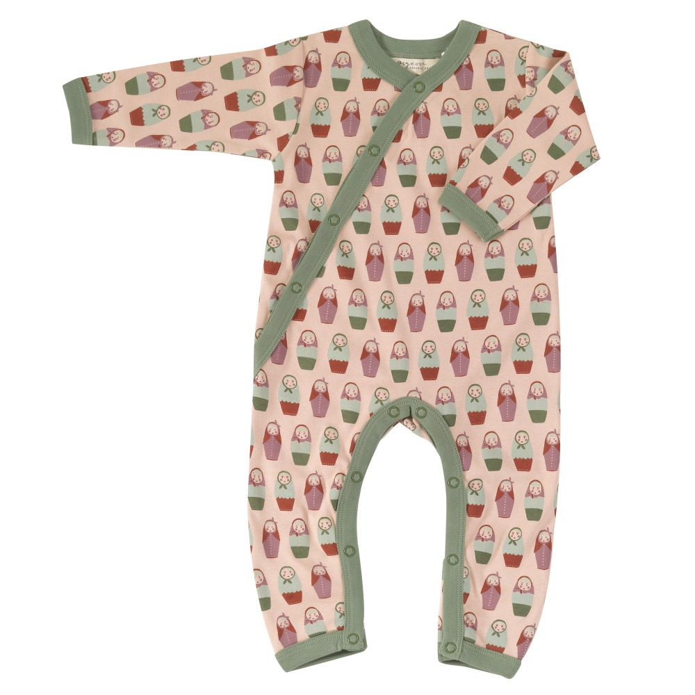 Organic Baby Rompers Russian Dolls