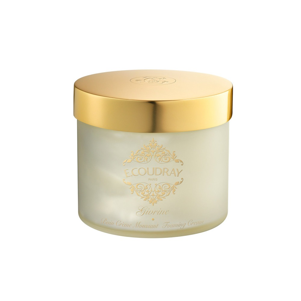 E. Coudray bath mousse glass jar givrine 250ml
