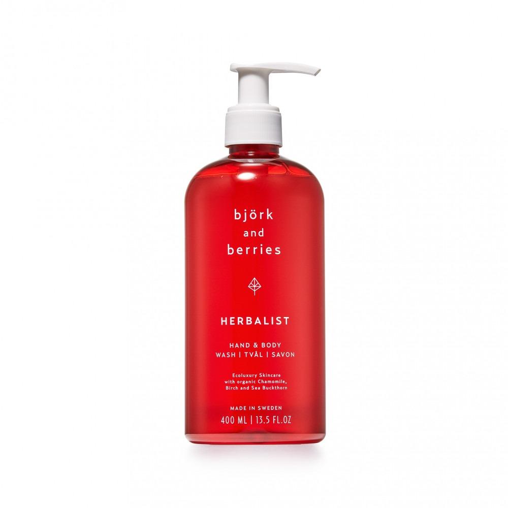 Björk & Berries Hand And Body Wash Herbalist 400ml