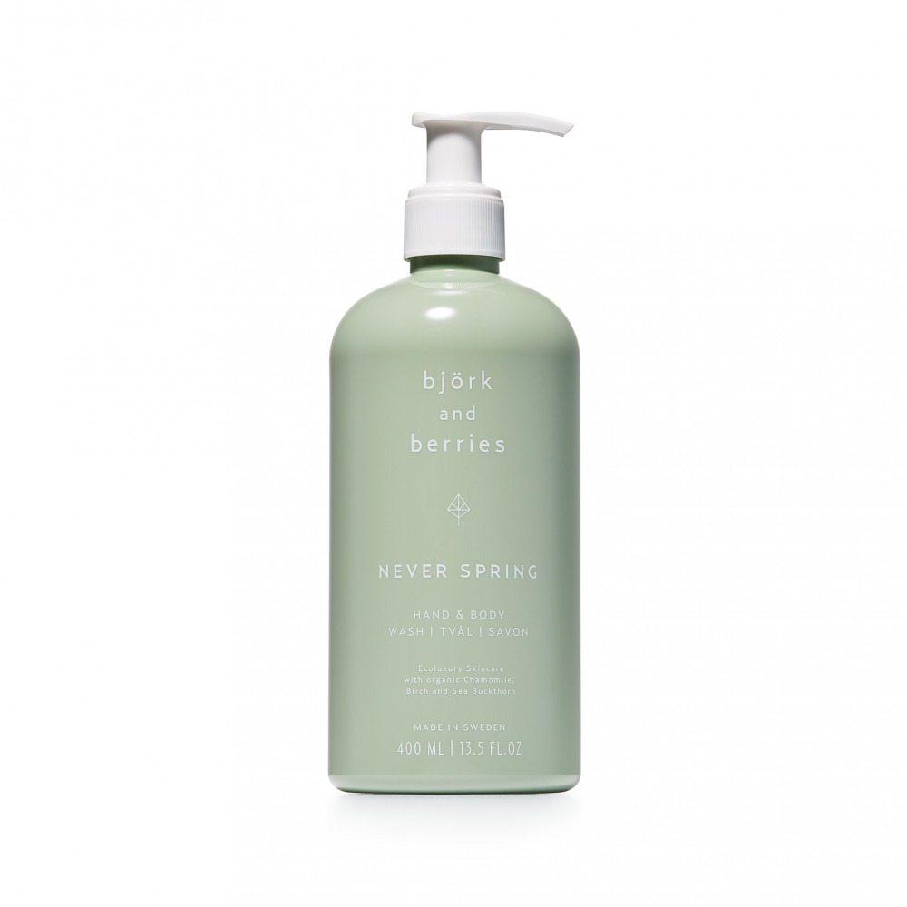 Björk & Berries Hand And Body Wash Never Spring 400ml