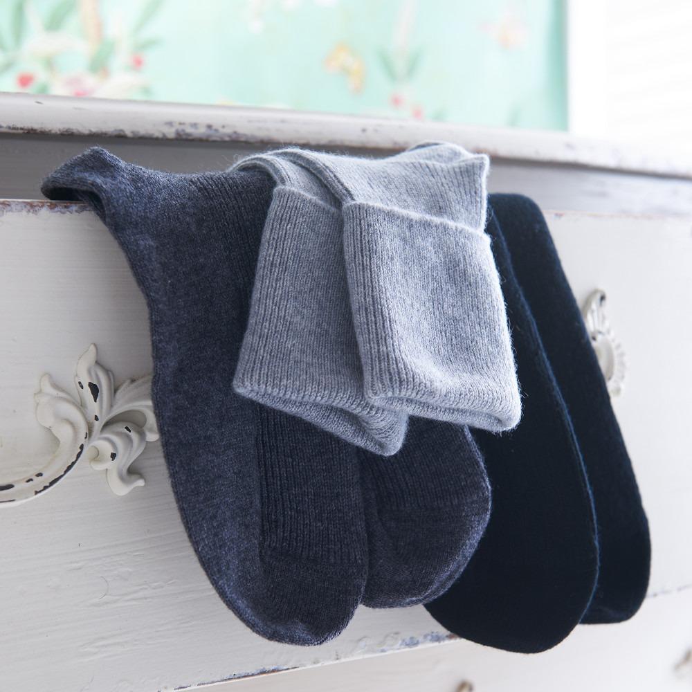 Cashmere Socks  Grey Black Natural