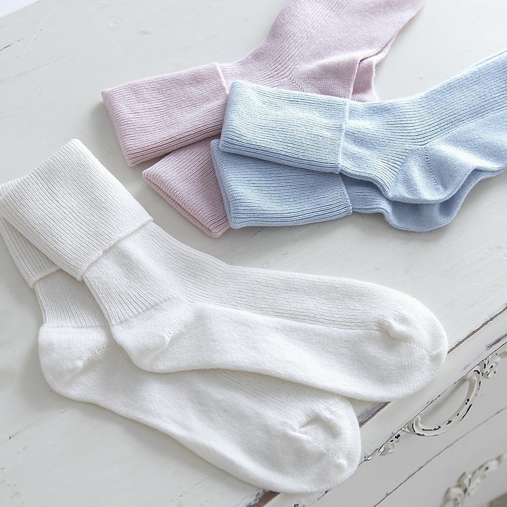 Pastel cashmere socks