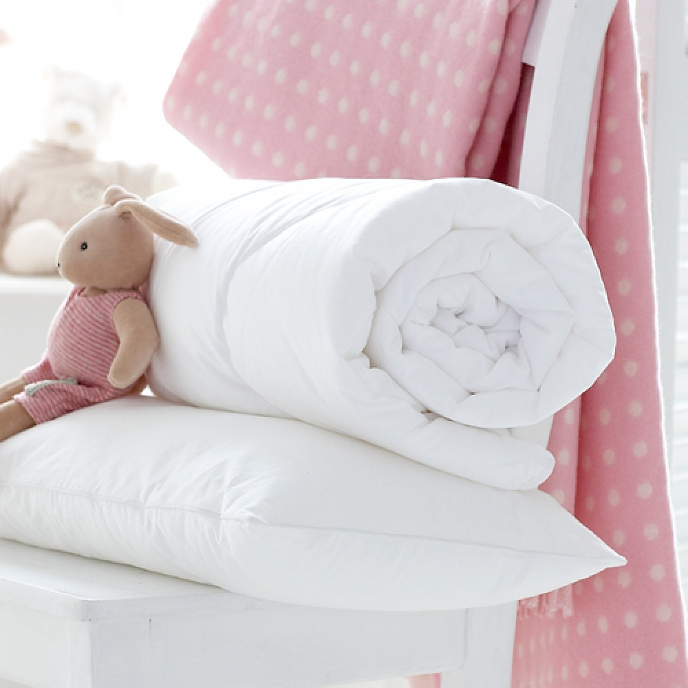 Cot Bed Duvet And Pillow