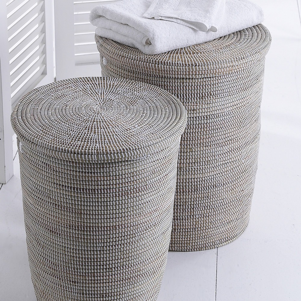 Natural Hand Woven Laundry Baskets