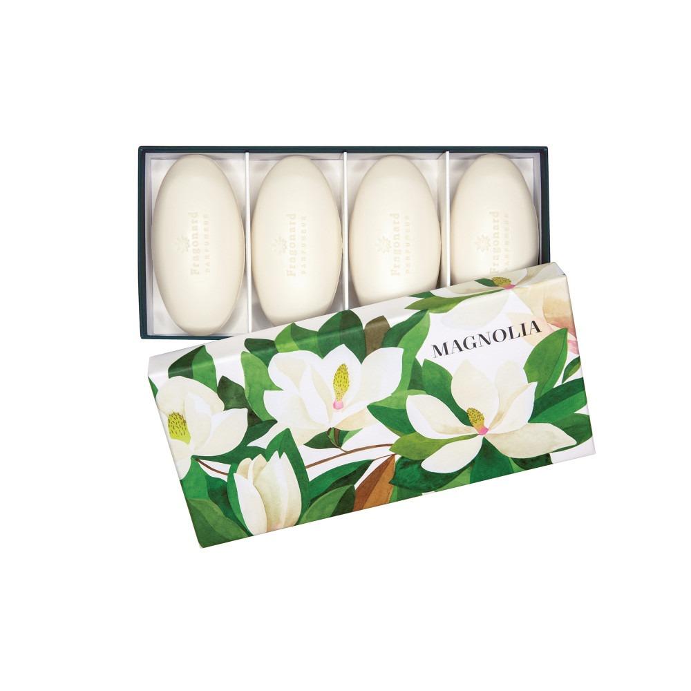 Fragonard Magnolia Guest Soaps 4 x 100g