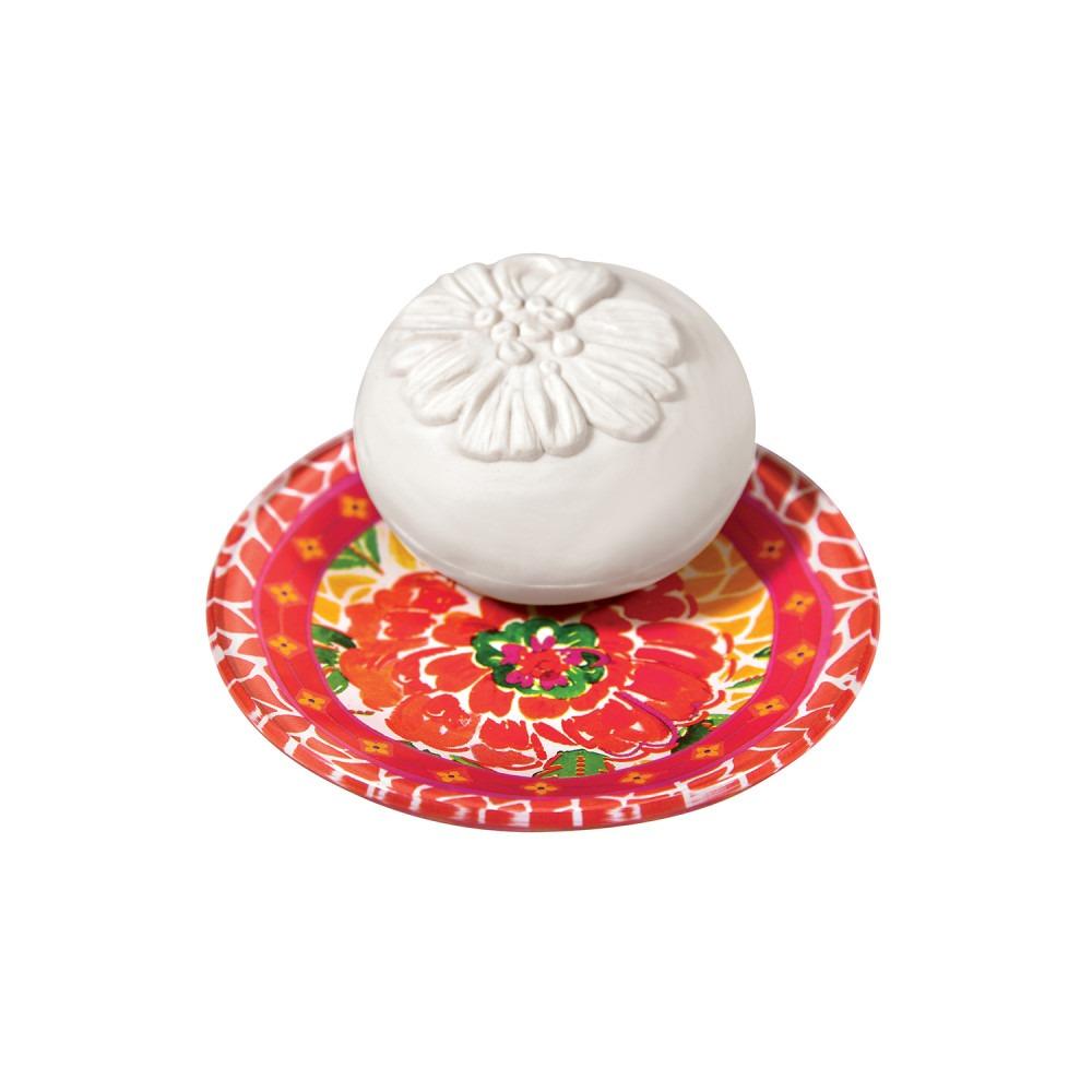 Fragonard Tilleul Cedrat Soap & Soap Dish