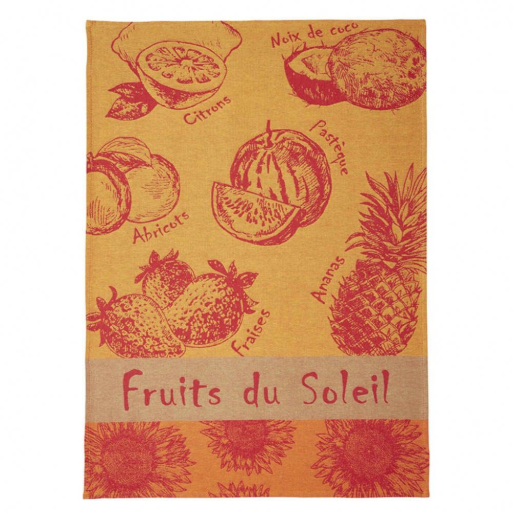 Tea Towel - Fruits D'ete