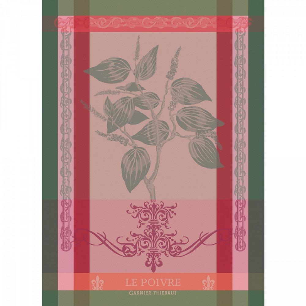 Garnier Thiebaut Brin De Poivre Rose Tea Towel