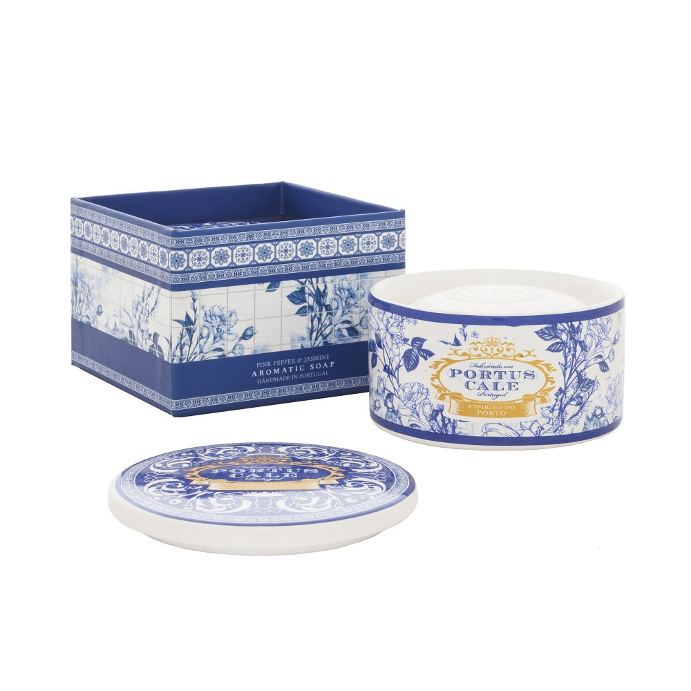 Portus Cale Gold and Blue Soap in Jewel Box 150g