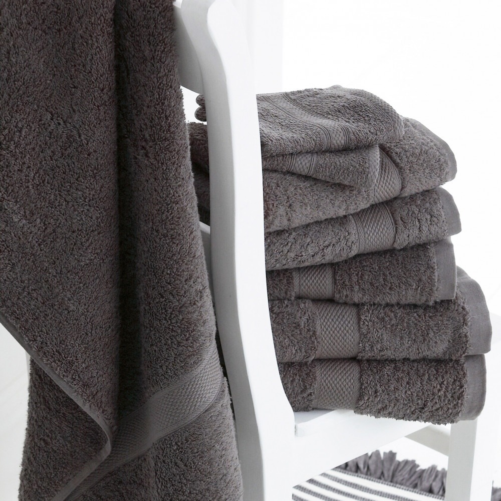 Luxury Grey Towels