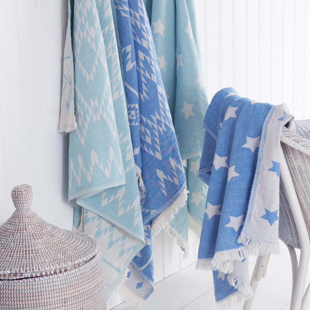Starry and Aztec Hamam Towels