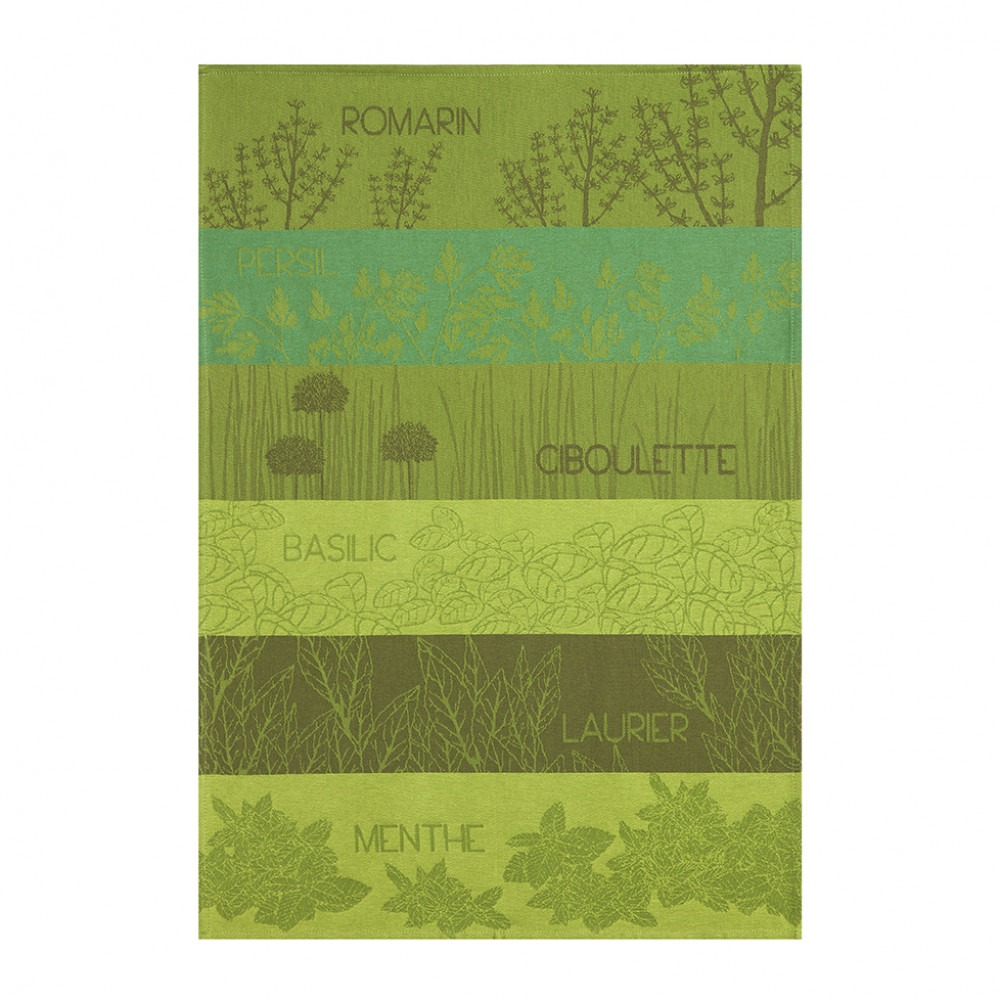 Tea Towel - Herbes Aromatiques