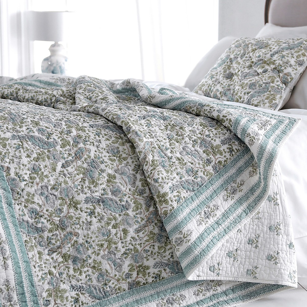 Jaipur Quilt and Cushion